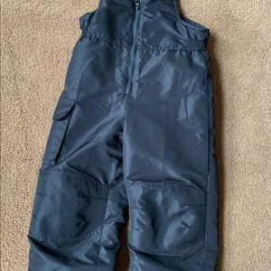 Kids Snow Pants - BLACK